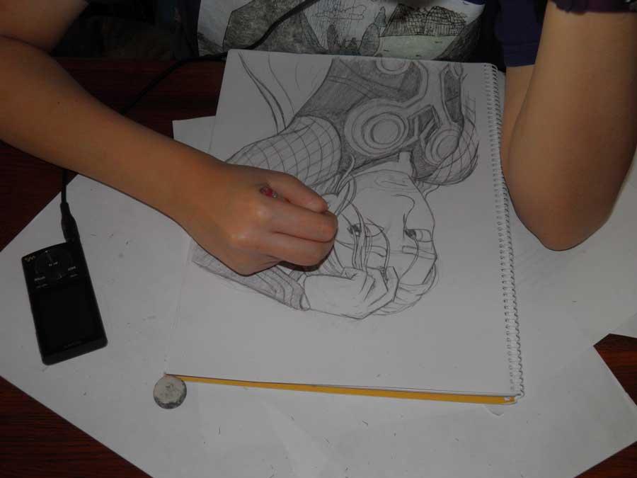 MaryEllen Drawing
