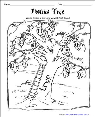 Phonics Tree (ee)