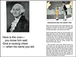 George Washington and the Cherry Tree Short Reader