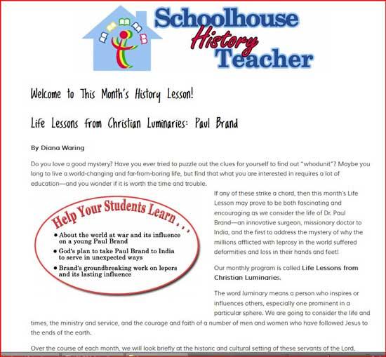SchoolhouseTeachers History