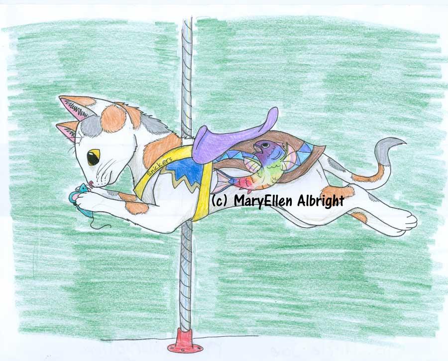 Cat Carousel - MaryEllen