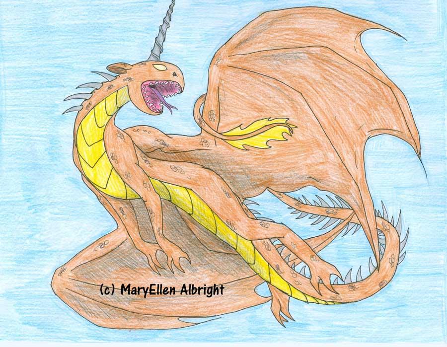 Flying Dragon - MaryEllen