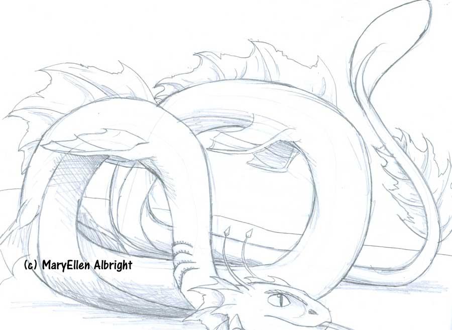 Serpent Dragon - MaryEllen