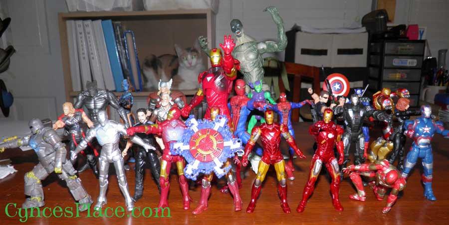 Super Heroe Toys