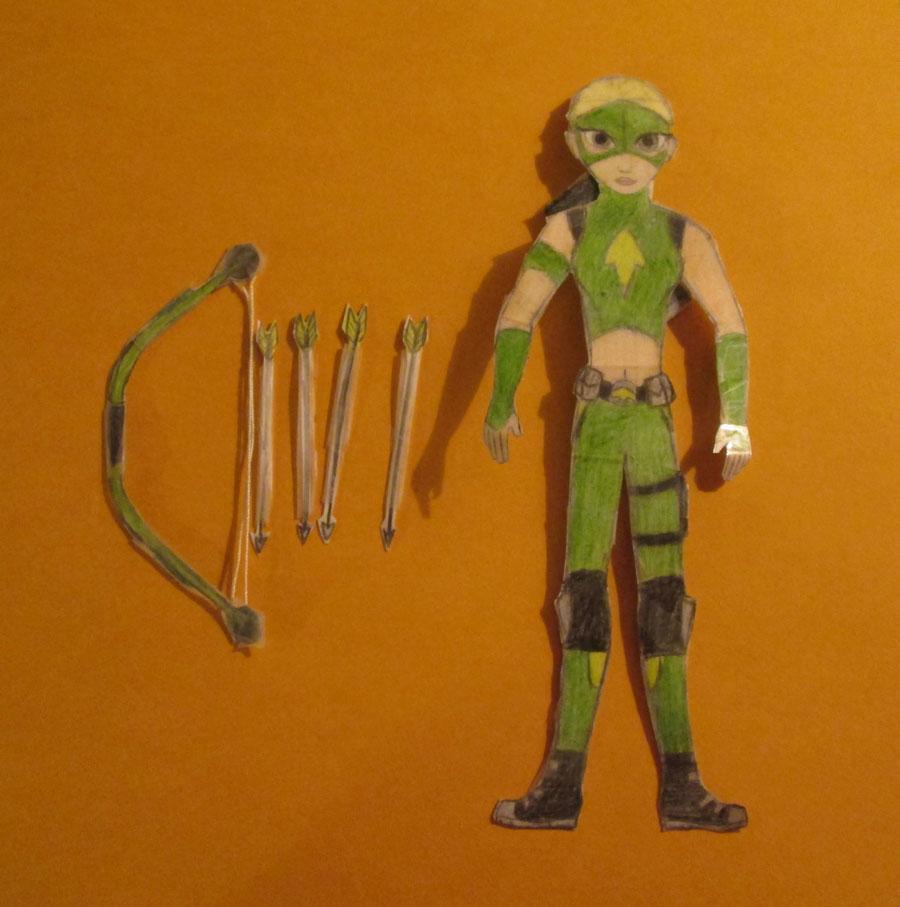 Artemis Paper Doll