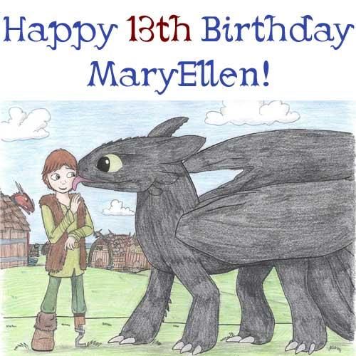 Happy Birthday MaryEllen