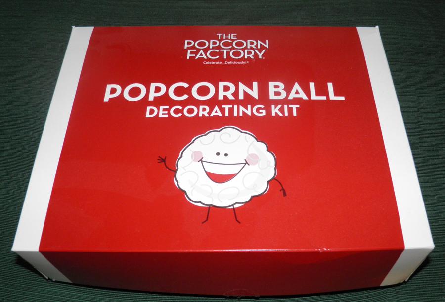 Popcorn Ball Decorating