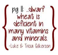 Dwarf Wheat