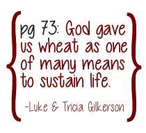 God Gave Us Wheat...