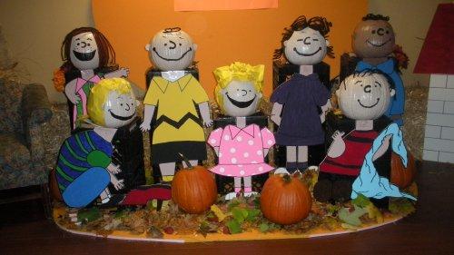 Cute Charlie Brown Display