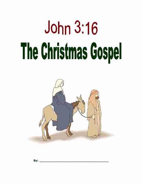 The Christmas Gospel Copywork